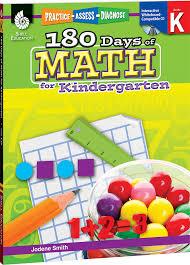 180 days of math for kindergarten teacher created materials