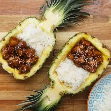 pineapple sticky pineapple chicken recipe by tasty