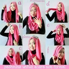 tutorial hijab resmi hijab menawan di acara non formal dream co id