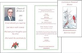 funeral program wording template memorial service invitation template
