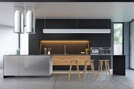 black and wood outstanding black and wood kitchens that will add style to your
