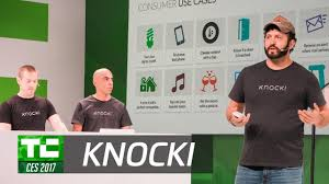 Smart Home Products 2017 by Activate Your Smart Home With Knocki At Ces 2017 Youtube