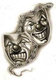 tattoo joker mask collection of 25 smile now cry later clown tattoo designs