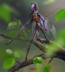 Dragonfly Garden Art Garden Insect By George Redreev Fantasy 2d Cgsociety