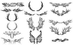 ornate ornaments vector pack for adobe illustrator