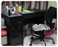 ikea brimnes dressing table my vanity sae says