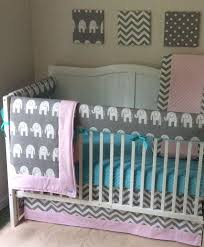 Pink And Aqua Crib Bedding 38 Best Pink And Aqua Baby Nursery Ideas Images On Pinterest