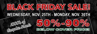 black friday tires unbelievably 21 more black friday comic shop sales bleeding cool