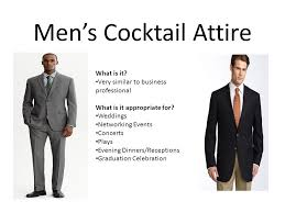 attire men professional dress for men women for all occasions ppt