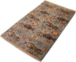 3x4 Area Rugs 3x4 10 Pictorial Fish Pond Area Rug Rugs