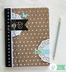 DIY Altered Notebook made from the pebblesinc Home Made