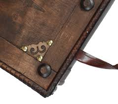 Coffee Tables Chest Antique Style Distressed Wooden Pirate Treasure Chest Coffee