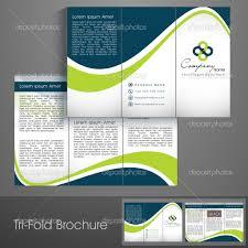depositphotos 29025361 professional business three fold flyer