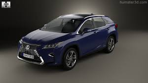 lexus rx hybrid suv 360 view of lexus rx hybrid 2016 3d model hum3d store