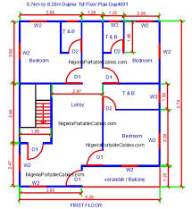 house plans for free duplex house plans nigeria free duplex floor plans free download