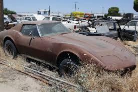 corvette junkyard california 100 acres of great junk and barn finds