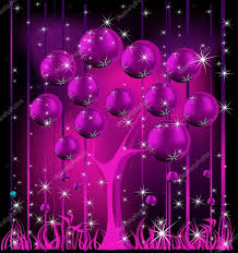 christmas tree pink and silver u2014 stock vector jelen80 34241347