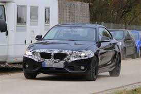 2018 bmw 2 series coupe facelift spied with discreet camouflage
