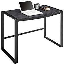 sonoma ridge writing desk rustic laminate gun metal staples