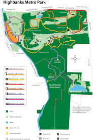 Mohican State Park Map by Metro Parks Central Ohio Park System Highbanks Map Mothers