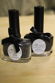 manicure monday black caviar the collabor eight