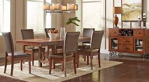 Dining Room With Living Room by Dark Wood Dining Room Sets Cherry Espresso Mahogany Brown Etc