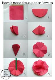 craft tissue paper wholesale how to make tissue paper flowers
