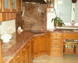 Kitchen Counter Backsplash Granite With Backsplash Mac S Solarius Granite Countertop With