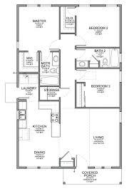 simple house floor plan design plans 3 bedroom simple house plans