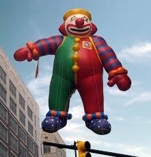 clown baloons circus clown parade balloon fabulous inflatables helium parade