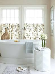 window treatment ideas for bathroom bathroom curtain ideas ezpass