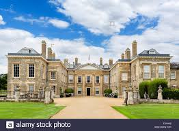 the front of althorp house seat of earl spencer and childhood