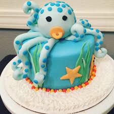 it u0027s a boy baby octopus baby shower cake mel u0027s bakes and cakes