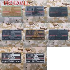 American Flag Morale Patch The Thin Red Line Don U0027t Tread On Me America Flag Military Tactical