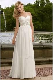 brautkleid chiffon weiß a linie chiffon v ausschnitt bodenlangen hochzeitskleid