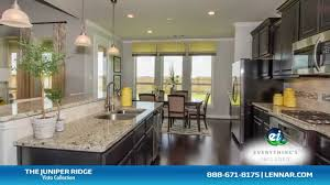 the juniper ridge model new home tour lennar houston youtube