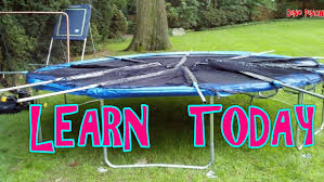 skywalker trampolines foot round trampoline and enclosure picture