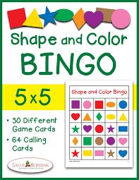 printable thanksgiving bingo shapes and colors bingo game cards 4x4 sallieborrink com