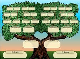 printable free family tree template family tree template 37 free printable word excel pdf psd family