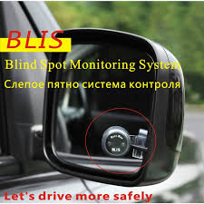 Blind Spot Detection System Installation Auto Car Blind Spot Monitoring System Flashing Alarm For Reminding