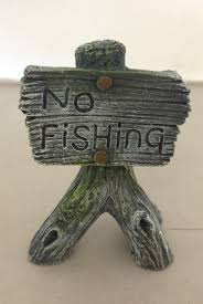 no fishing sign for fish tanks aquariums fishtankbank