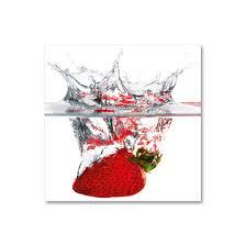 tableau en verre pour cuisine tableau verre cuisine idées décoration intérieure
