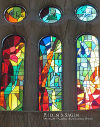 how to tea stain glass l shades the multi colored stained glass windows inside the sagrada familia