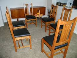 arts and crafts dining room furniture arts and crafts dining table
