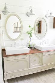 transform a vintage buffet into a diy bathroom vanity