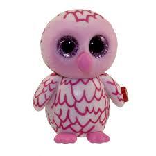 ty beanie boos mini boo figures pinky pink owl 2