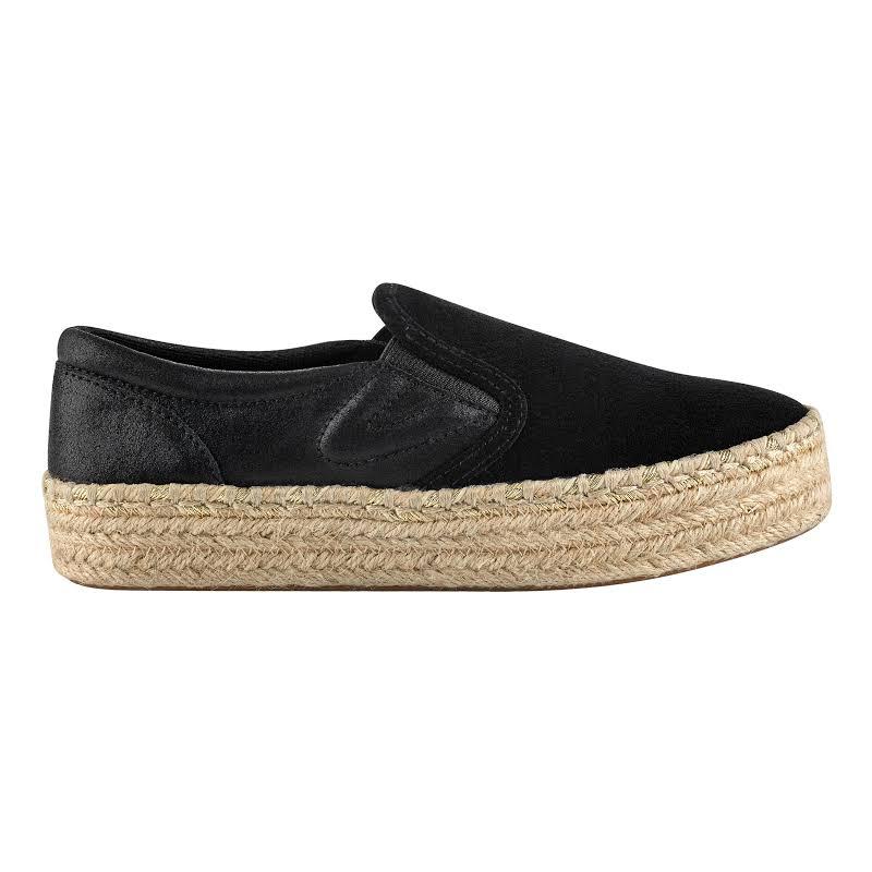 Tretorn Emilia 2 Suede Black / Nero Ankle-High Slip-On Shoes 7.5M