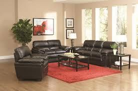 Black Leather Sofa Set Fenmore Black Leather Sofa Steal A Sofa Furniture Outlet Los