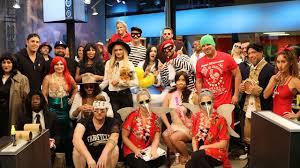 tmz staff halloween costumes kim kardashian robbery rob u0026 blac