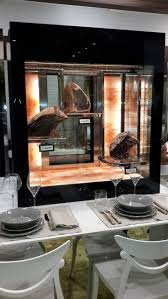 180 best butcher shop ideas images on pinterest butcher shop new shop display idea dry aged beef in himalayan rock salt cabinet beautiful and